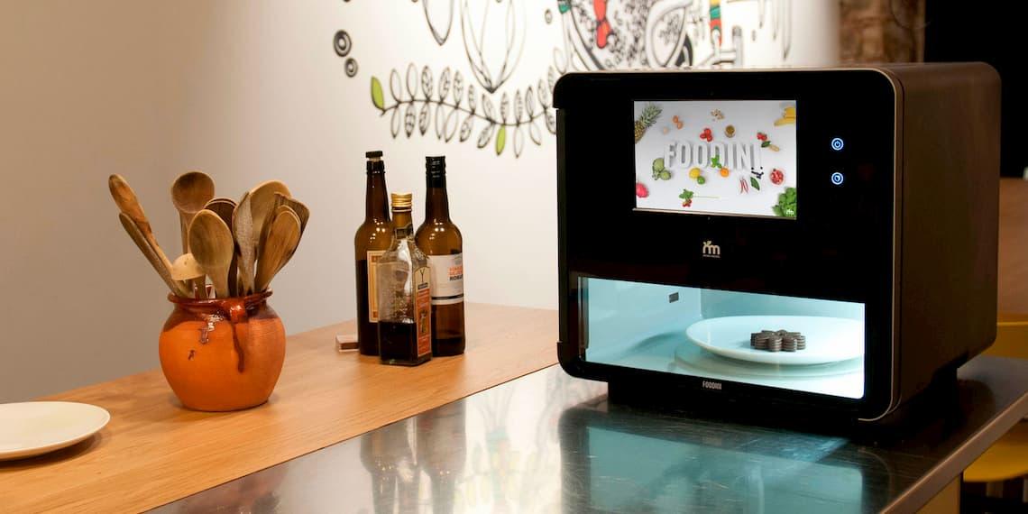 Homepage Design Food Tech